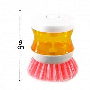 Escova de limpeza plast color Cleaning essencial