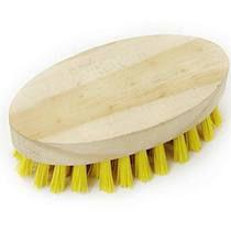 Escova oval de madeira Santana