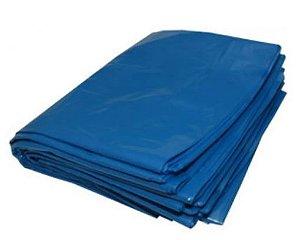 Pacote Saco lixo azul 60L 100un