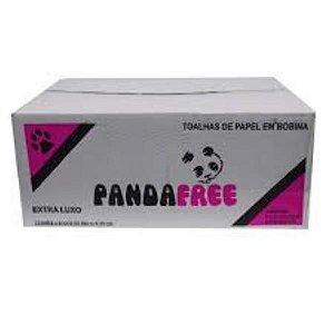 Papel Toalha Bobina Luxo 100%cel 6 x 200m Pandafree