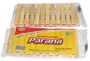 Prendedor de roupa madeira gigante Parana 12un