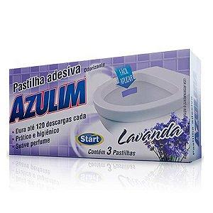 Pastilha Adesiva Azulim Lavanda C/3