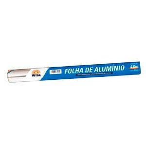 Papel aluminio wyda natural 30cmx4cm