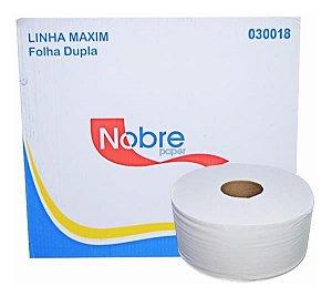 Papel Higienico F Dupla Rolao 100%celulose 8x250m Nobre