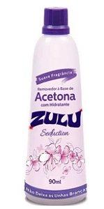 Removedor acetona zulu 90ml