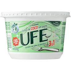 Sabao de coco em pasta UFE 500g