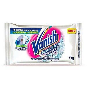 Sabao vanish barra white 75g