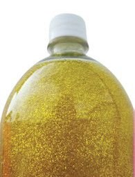 Sabonete liquido glitter Dourado 1L