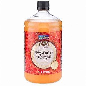 Sabonete pessego e damasco 1L Deoline