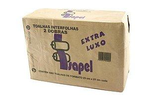 Toalhas interfolhas 2d Extra Luxo 22x20,5cm 4500un Isapel