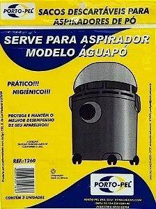 Saco aspirador arno aguapo - 3 und (REF.1260)