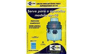 Saco aspirador de po electrolux hidrolux ap-40 - 3 und (REF.1117)