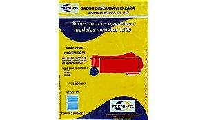 Saco aspirador electrolux mundial 1500 - 5 und (REF.2112)