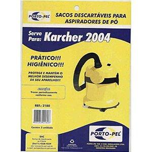 Saco aspirador karcher 2004 a2003 - 3 und (REF.2180)