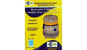 Saco aspirador lavor wash gn 22 br antigo - 3 und (REF.1290)