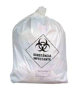 Saco plastico p/lixo hospitalar. 100L 75X105cm c/100unid. ZIBAG GOEDERT 06 RE 10229