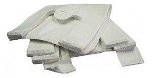 Sacola branca grossa 40x50 pc/4kg