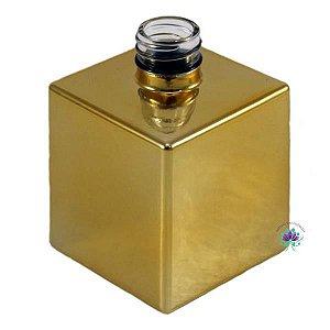 Vidro cube 250ml R28 ouro brilho
