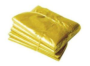 Pacote Saco lixo amarelo 60L 100un