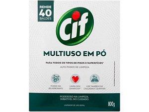 CIF LIMPADOR EM PO MULTIUSO CX 800G
