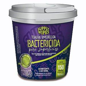 Lencos Umedecidos Supply Clean Bactericida balde 150un