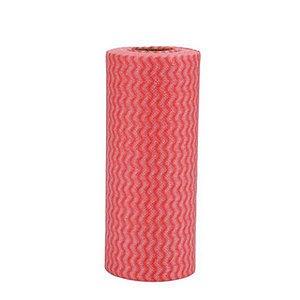 Pano Multiuso (rolo 25 panos de 30cmx20cm picotado) NOBRE Vermelho