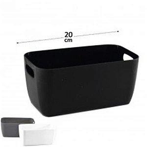 Cesto Organizador De Plastico Clink 20x10,5x9cm