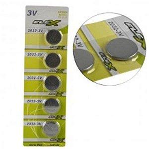 Bateria 3V FX-CR2025 Flex - 1un