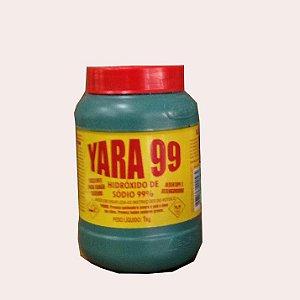 SODA CAUSTICA YARA 1KG 99%