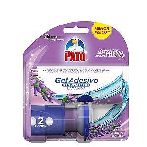 Pato Gel Adesivo Aplicador com Refil Lavanda com 2 Discos