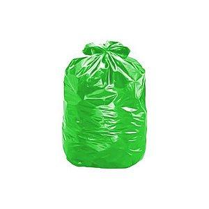 Saco lixo verde 40L 100un