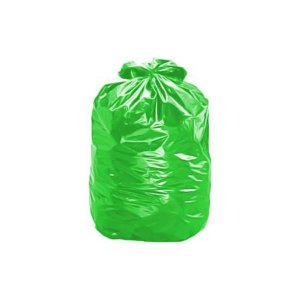 Pacote Saco lixo verde 40L 100un