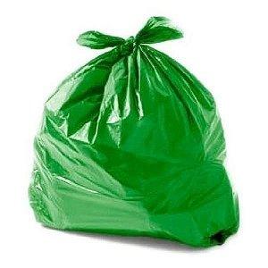 Pacote Saco lixo verde 20L 100un