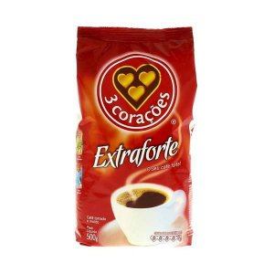 CAFE 3 CORACOES 500G EXTRA FORTE