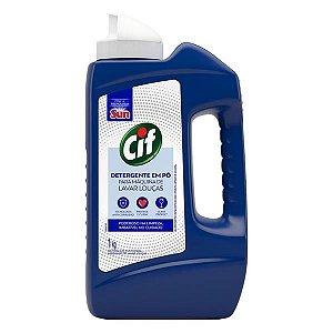 Detergente em Pó Máquina de Lavar Louças Cif Frasco 1kg