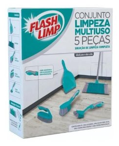 CJ. PARA LIMPEZA MULTIUSO 5 PC FLASHLIMP