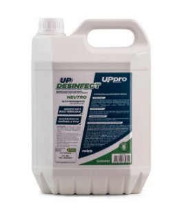 Desinfetante p/ uso geral 5L (concentrado 1:40) Neutro UP DESINFECT UPPRO - NOBRE