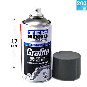 Spray Grafite Lubrificante Seco 200Ml TEKBOND