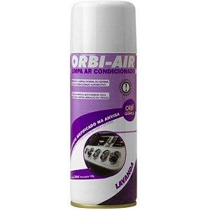 Limpa Ar Condicionado Orbi Air Lavanda Aerossol 200Ml 140G Orbi Quimica