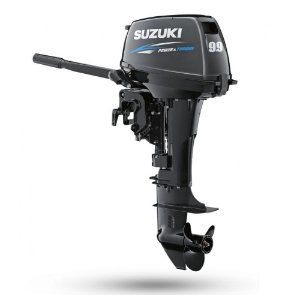 Motor de popa Suzuki 9.9HP 2T - Preço apenas para Produtor Rural