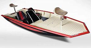 Barco Black Bass 5.0 SS (com comando) indicação motor 25 a 40 HP - Casco