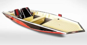 Barco Black Bass 5.5 SS (com comando) indicação motor 25 a 40HP - Casco