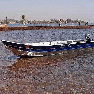 Barco de alumínio Martinelli Tornado 500 borda alta bico 5m - (Frete a consultar)