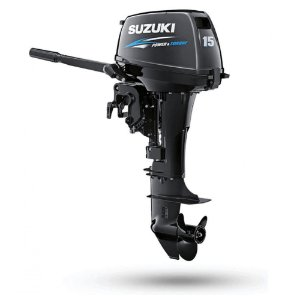 Motor de popa Suzuki 15HP DT15A 2T Apenas 33Kg  - Preço P. Jurídica - Pronta Entrega e Frete Grátis