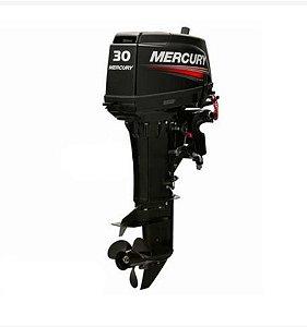 Motor de popa Mercury 30 HP Japonês 2 Tempos partida elétrica, faturamento pessoa física