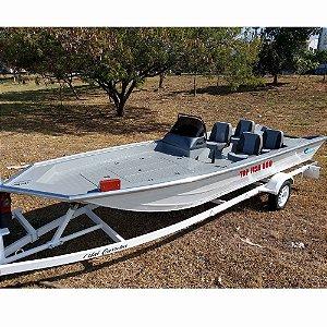 Barco Uai Top Fish 550, 40 a 60HP (somente o casco)