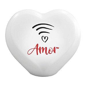 Luminária Coração Amor Wi-fi