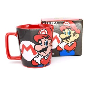 Caneca Buck 400ML Mario Mushroom