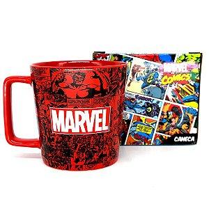 Caneca Buck 400ML Marvel Classic