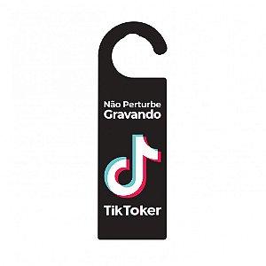 Aviso de Porta TikToker